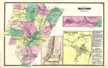 Milford, Colliersville, Portlandville, Otsego County 1868